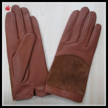 wholesale genuine basic style hot selling leather gloves