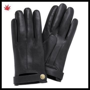 mens basic fashion style sheepskin leather glove in Italia