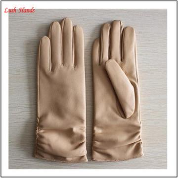 hot selling basic style genuine sheepskin leather glove