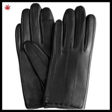mens short warm fashion smartphone leather touch glove
