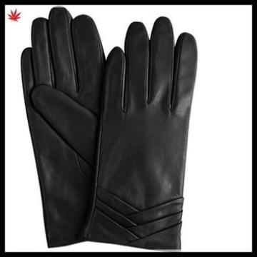 new arrival cashmere lining fashion winter leather glove