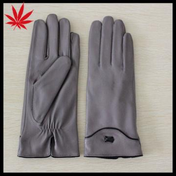 high quality leather driving gloves hand gloves for girls