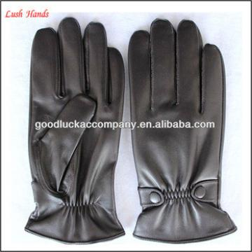 Men's stylish dressing leather gloves
