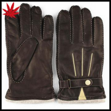 China men gloves leather in winter