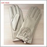 fashion style cheap price women wearing PU gloves
