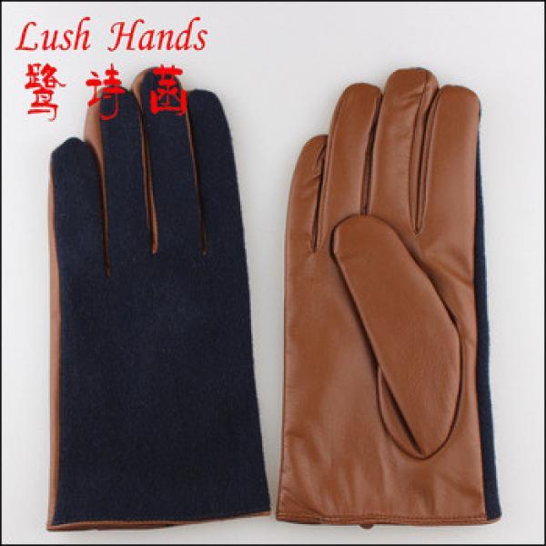 wholesale winter gloves men leather gloves #1 image