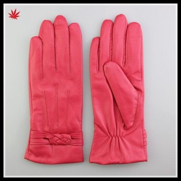 sexy girls in pink leather gloves #1 image